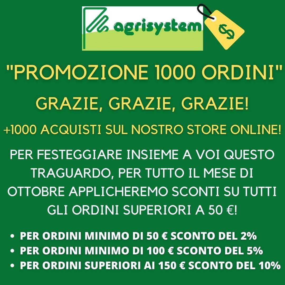 """""""PROMOZIONE 1000 ORDINI"""""""